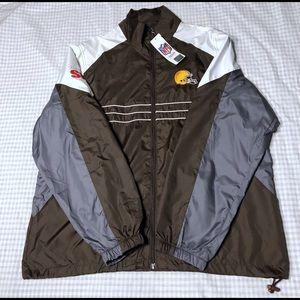 Cleveland Browns Windbreaker Lightweight Jacket